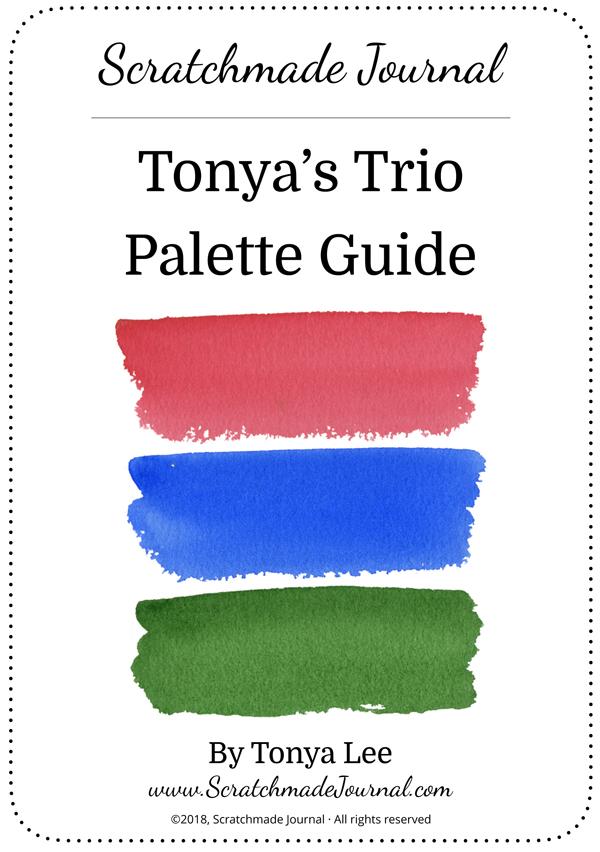 Tonya's Trio Palette Guide - ScratchmadeJournal.com
