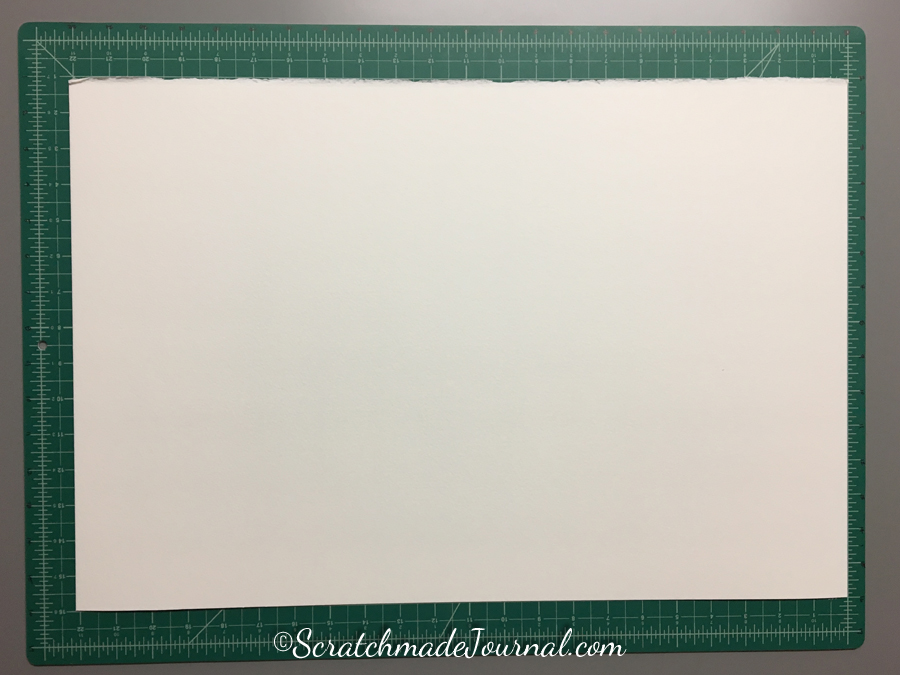 Step 2 of the watercolor paint swatch tutorial at ScratchmadeJournal.com