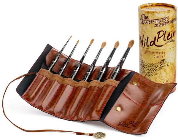 Wild Plein Travel Brush Set ©WildPlein.com