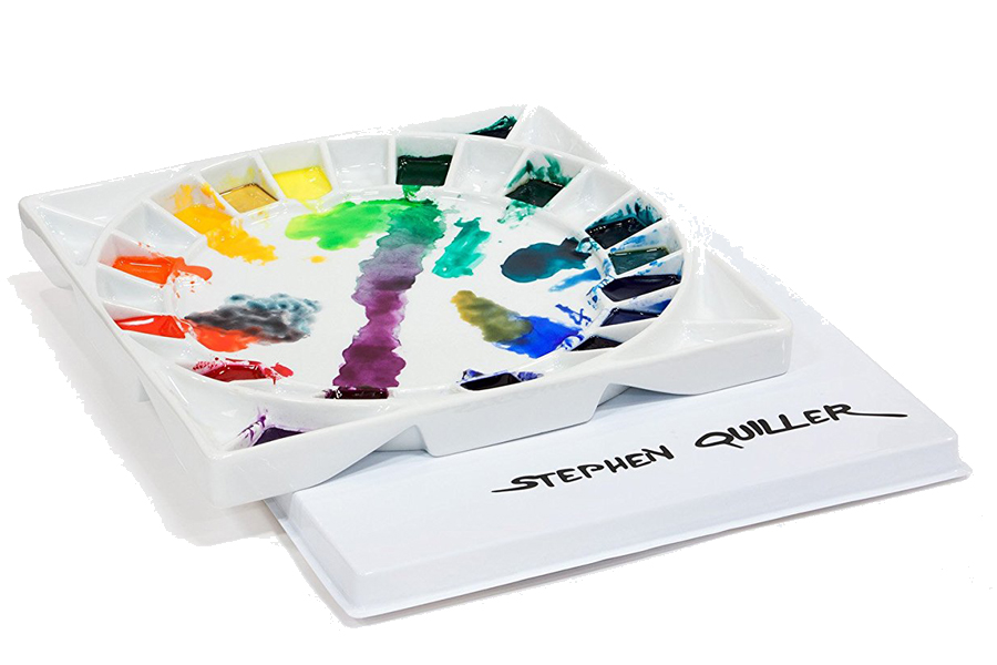 Review of Jack Richeson Stephen Quiller porcelain palette - ScratchmadeJournal.com