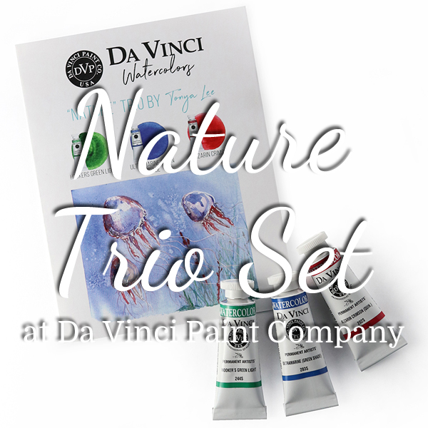 Shop my Tonya's Nature Trio set at Da Vinci Paint Company - ScratchmadeJournal.com