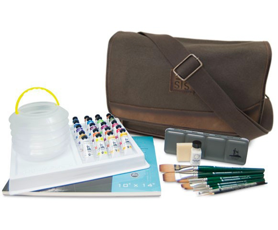 The American Journey Productive Artist Set is a top 10 watercolor gift for artists - ScratchmadeJournal.com