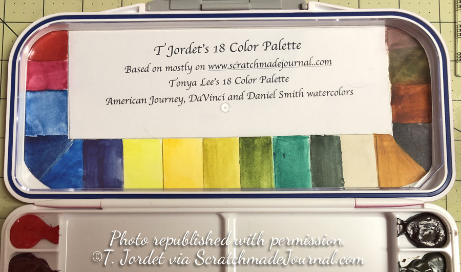 I often find my palette combos copied brand by brand, color by color and then republished, taught in classes, or posted on social media with no credit whatsoever. This extremely thoughtful reader went above and beyond any courtesy I could have expected before publishing her palette on social media. Never underestimate how much one, simple act of kindness can mean to another.