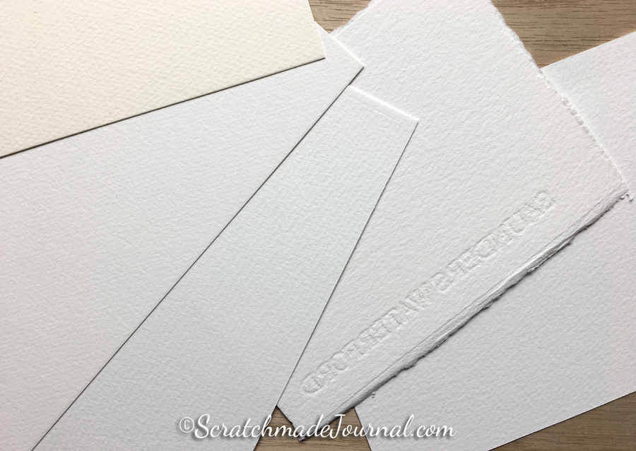 I enjoy keeping a variety of papers on hand, but not too many! Watercolor papers have a limited shelf life so I only buy what I can use quickly.