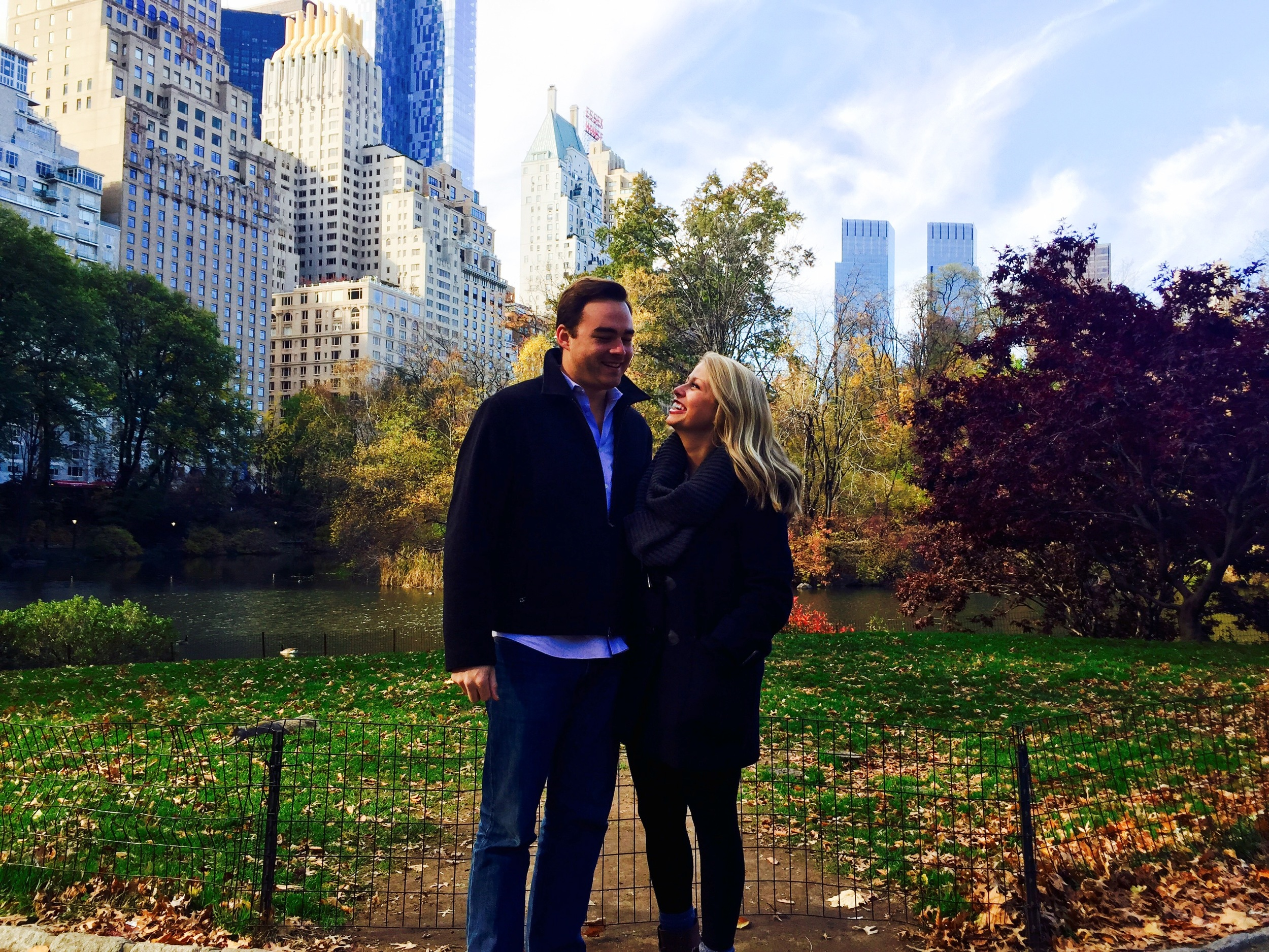 Central Park this past November