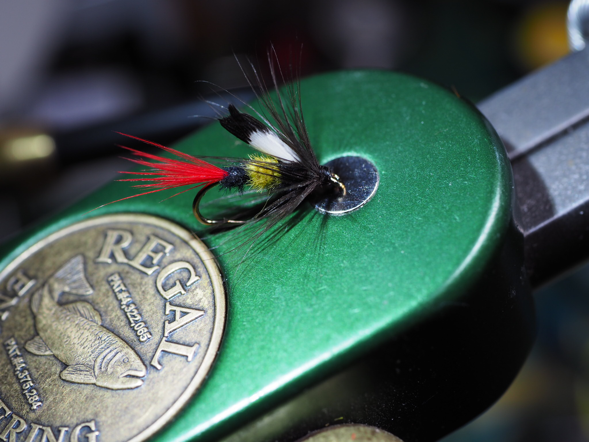 The McGinty is a great pattern to use once things warm up a bit.
