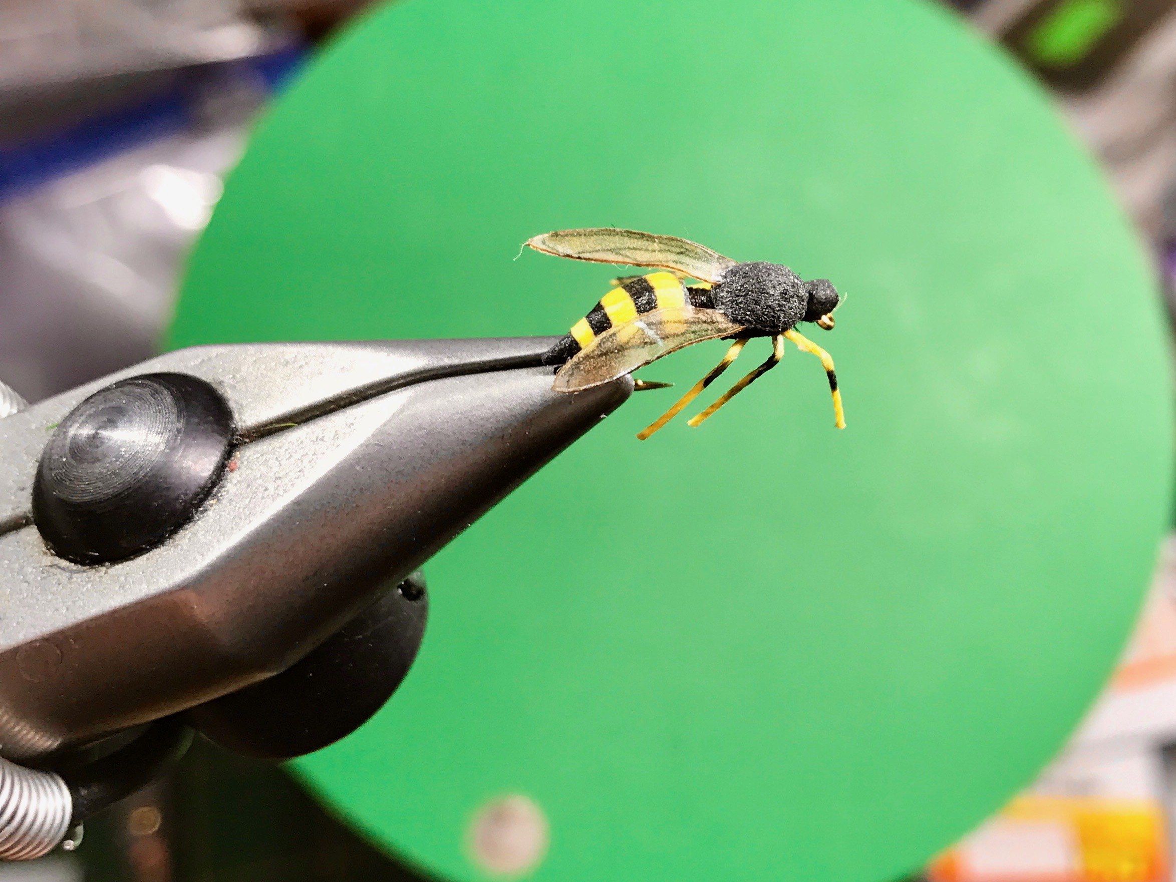 How much detail does one need to put into a fly for panfish?