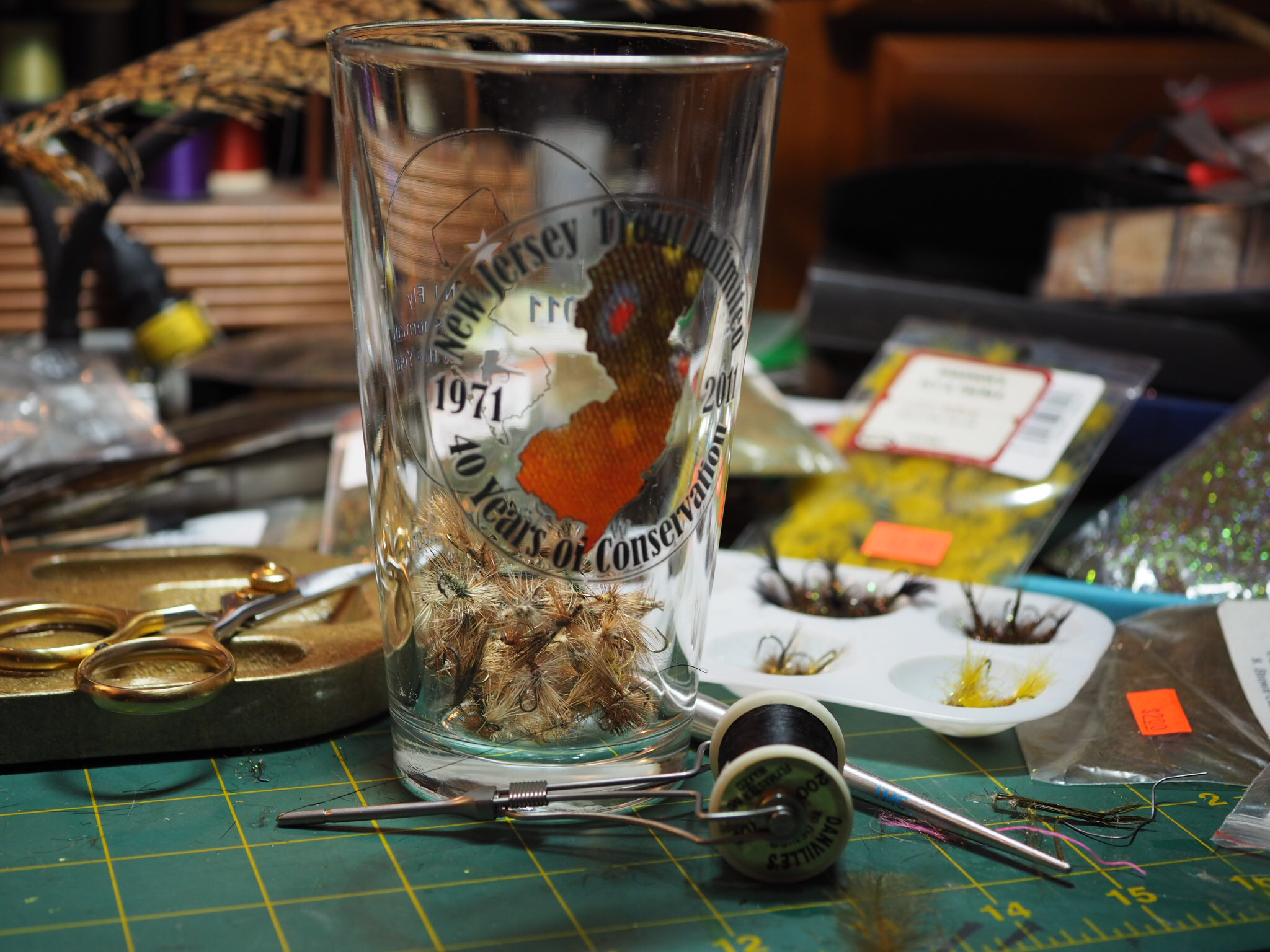 My current bluegill cup.