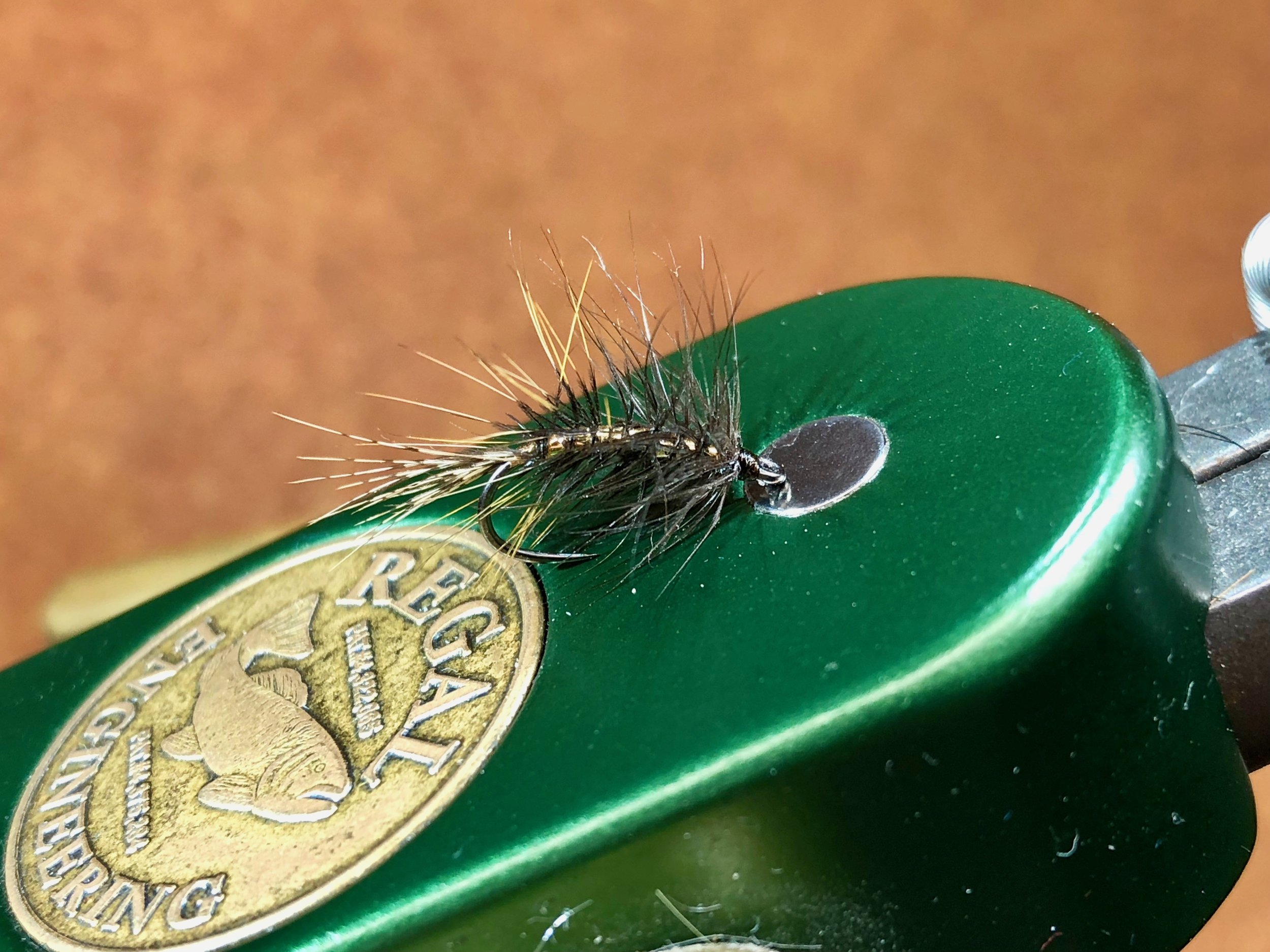 The Tick, a salt water pattern tied for striped bass, that is perfect for panfish!