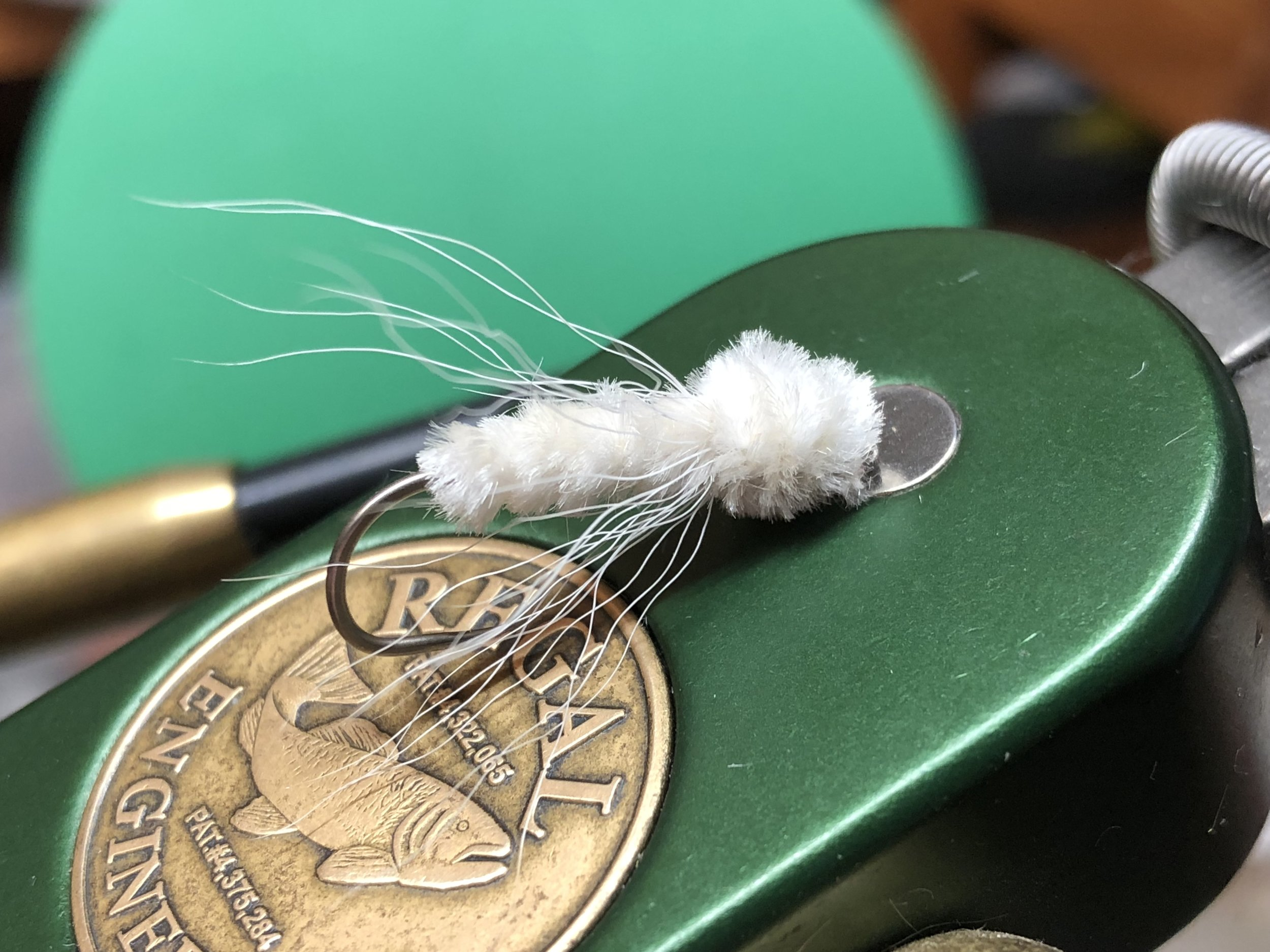 The Ghost is an all-white version of the James Wood Bucktail
