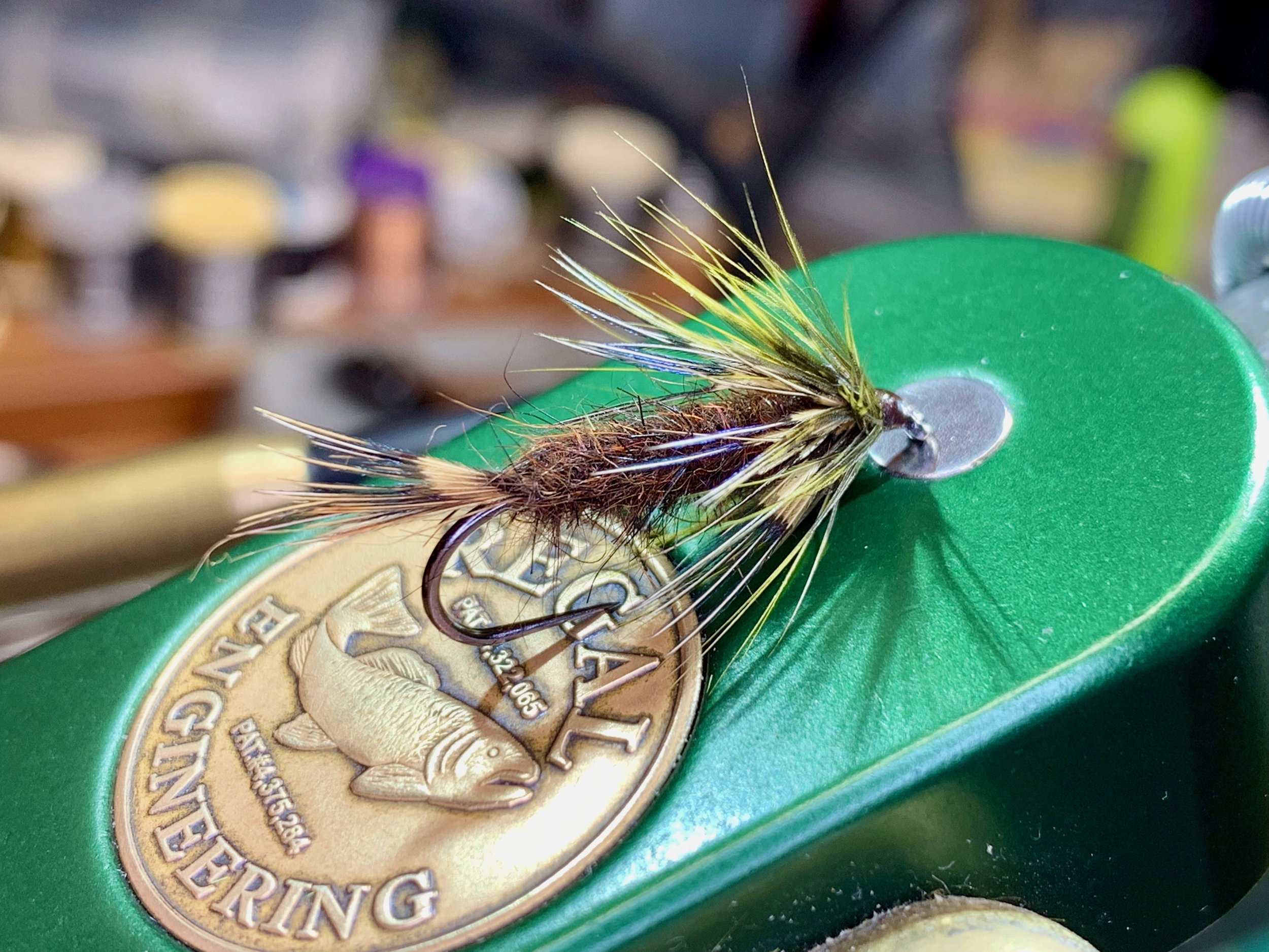 A slightly modified Cockaroo that earned a regular place in my wet fly box.