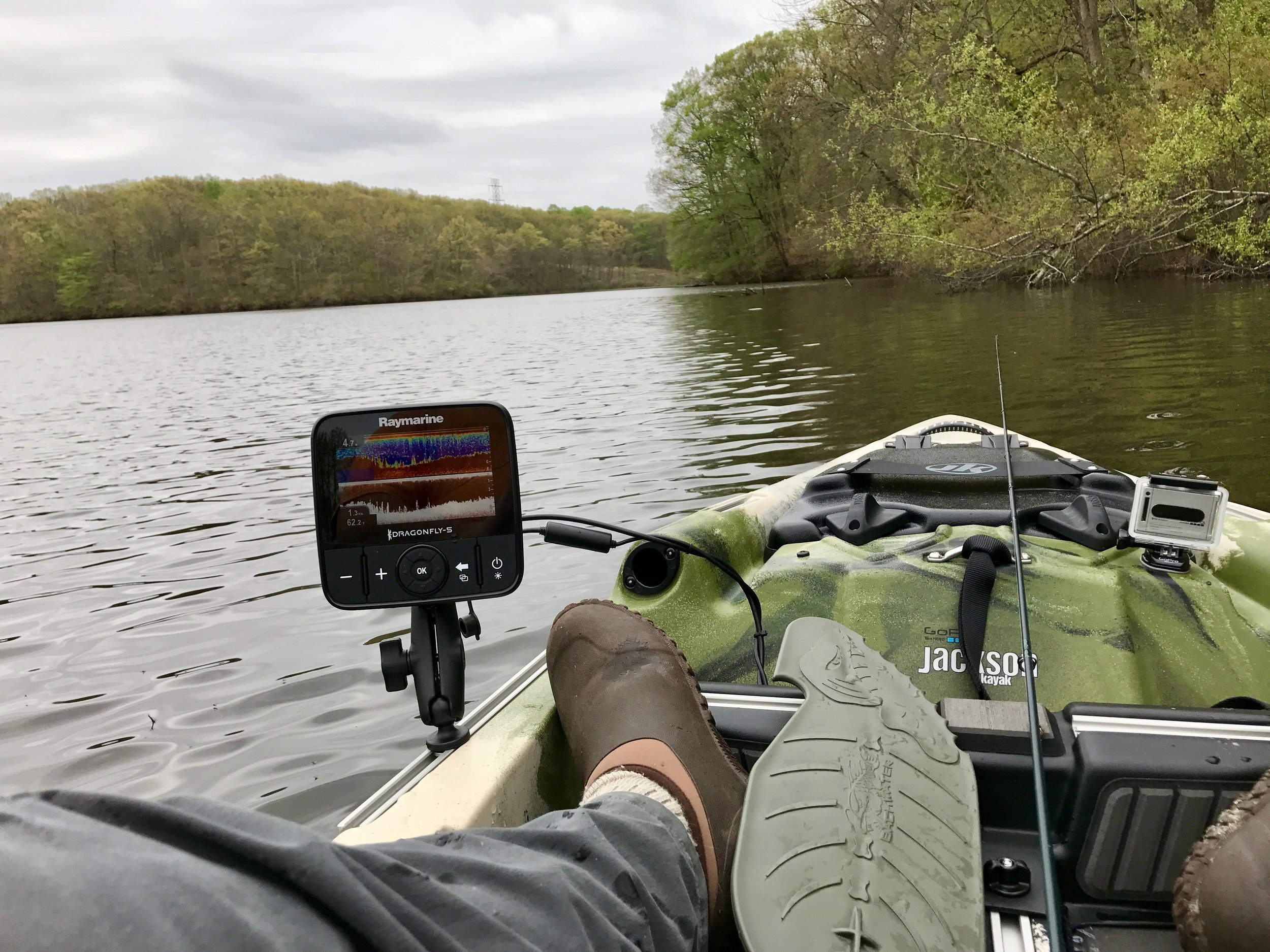 A fish finder is a useful tool to help you locate the structure you are looking for as well as the fish themselves!