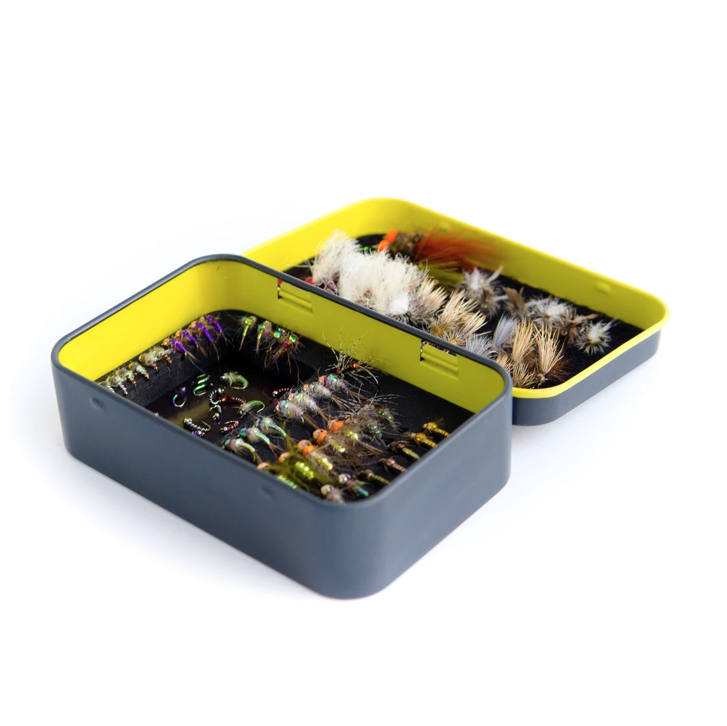 The Yakoda Fly Tin is the perfect box for your panfish flies!