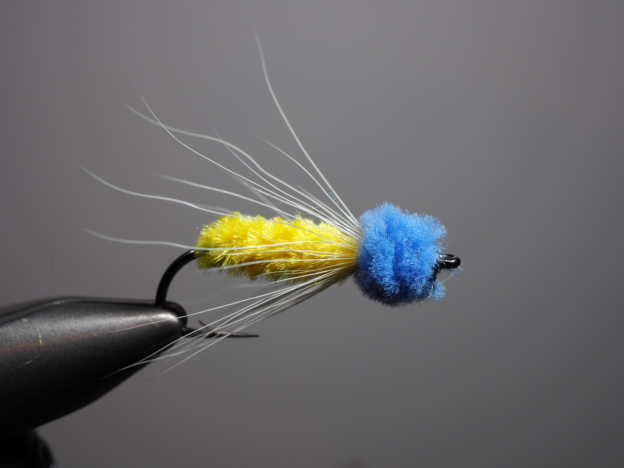 The James Wood Bucktail, an unusual but highly effective panfish streamer!