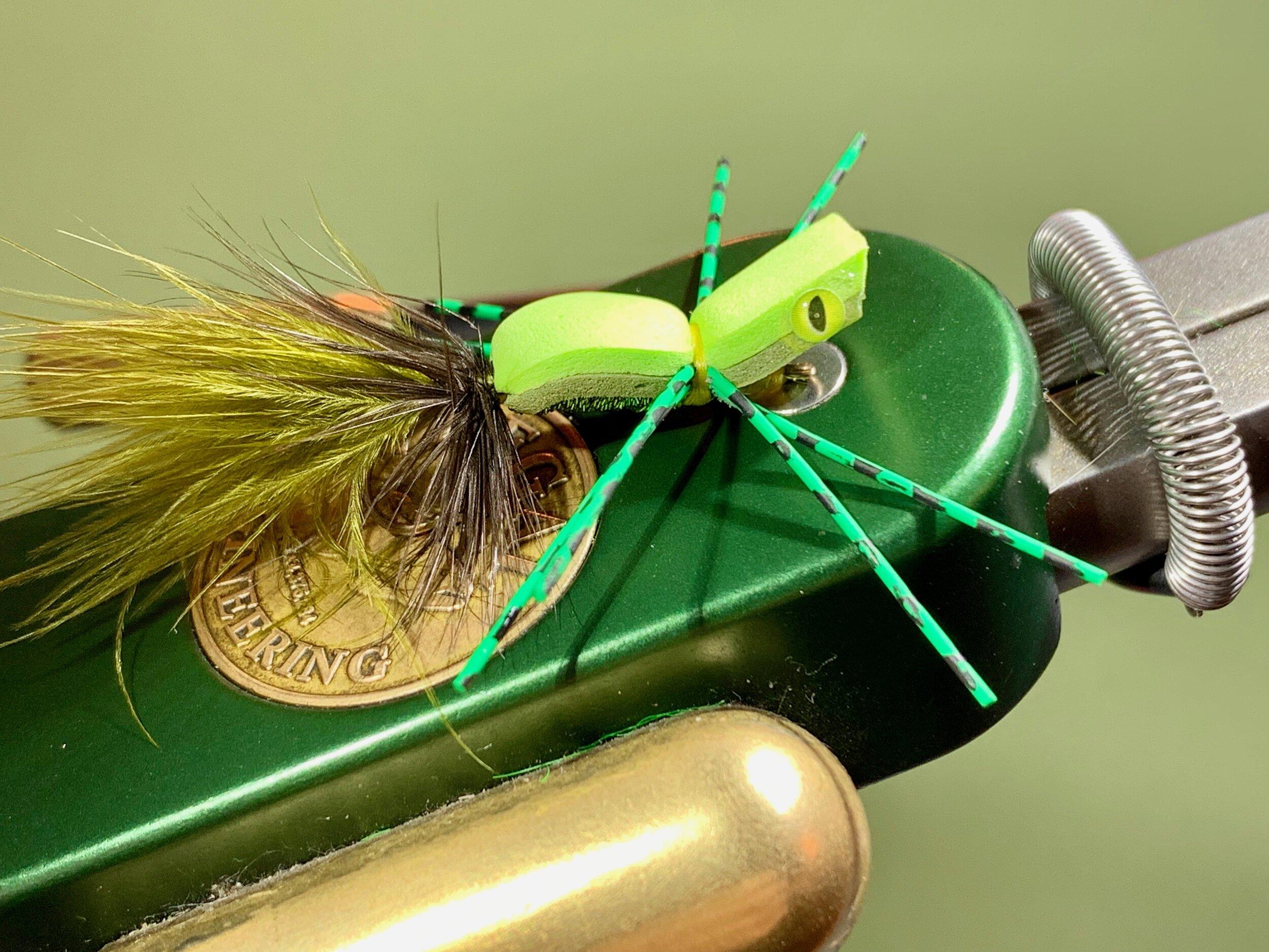 This variation of Jack Gartside's Gurgler is a simple to tie topwater favorite of mine.