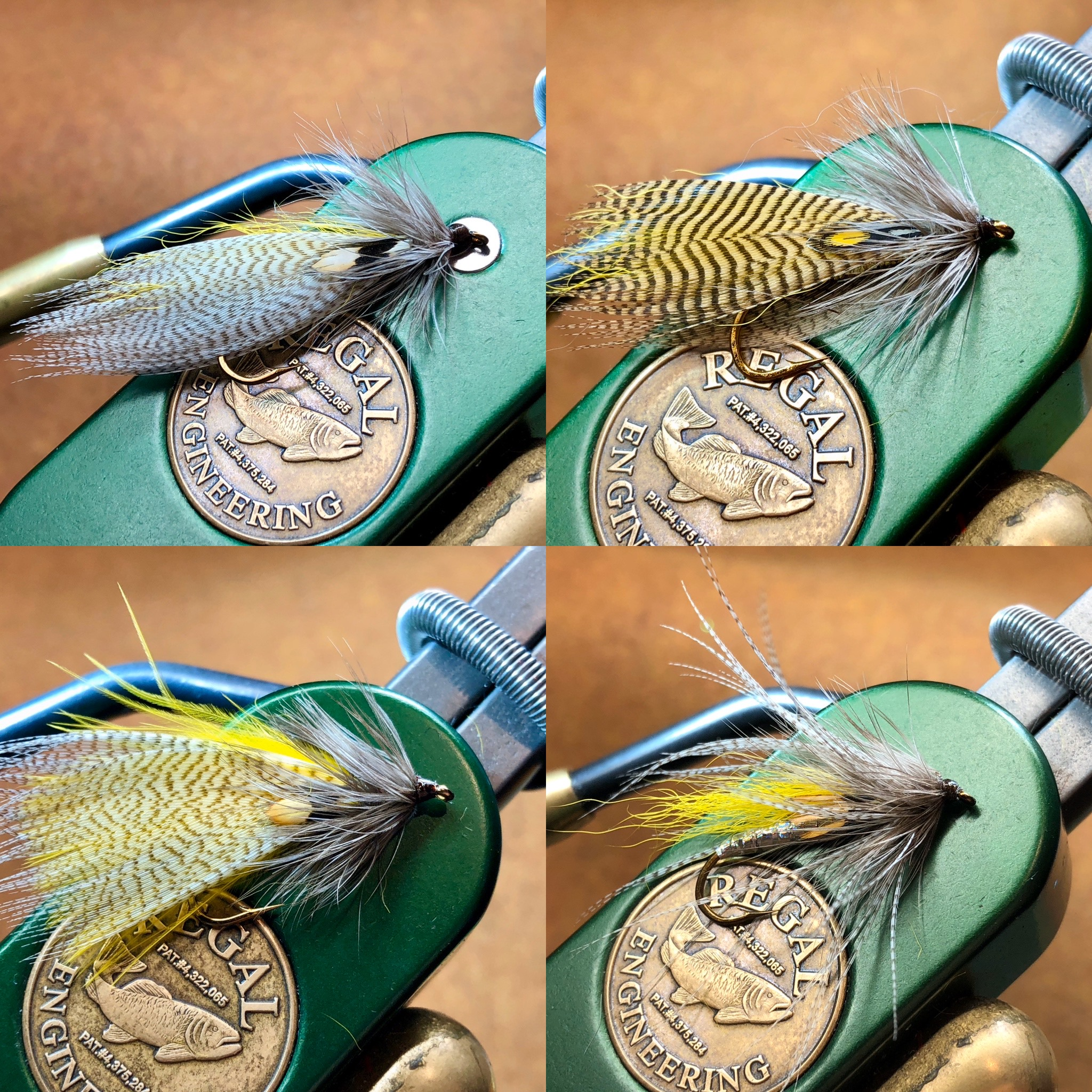 Some samples of my Hornberg Special Streamers