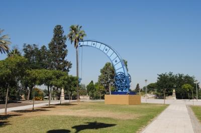 Fairbairn crane in Seville. By  Jose Manuel Lara Perona .