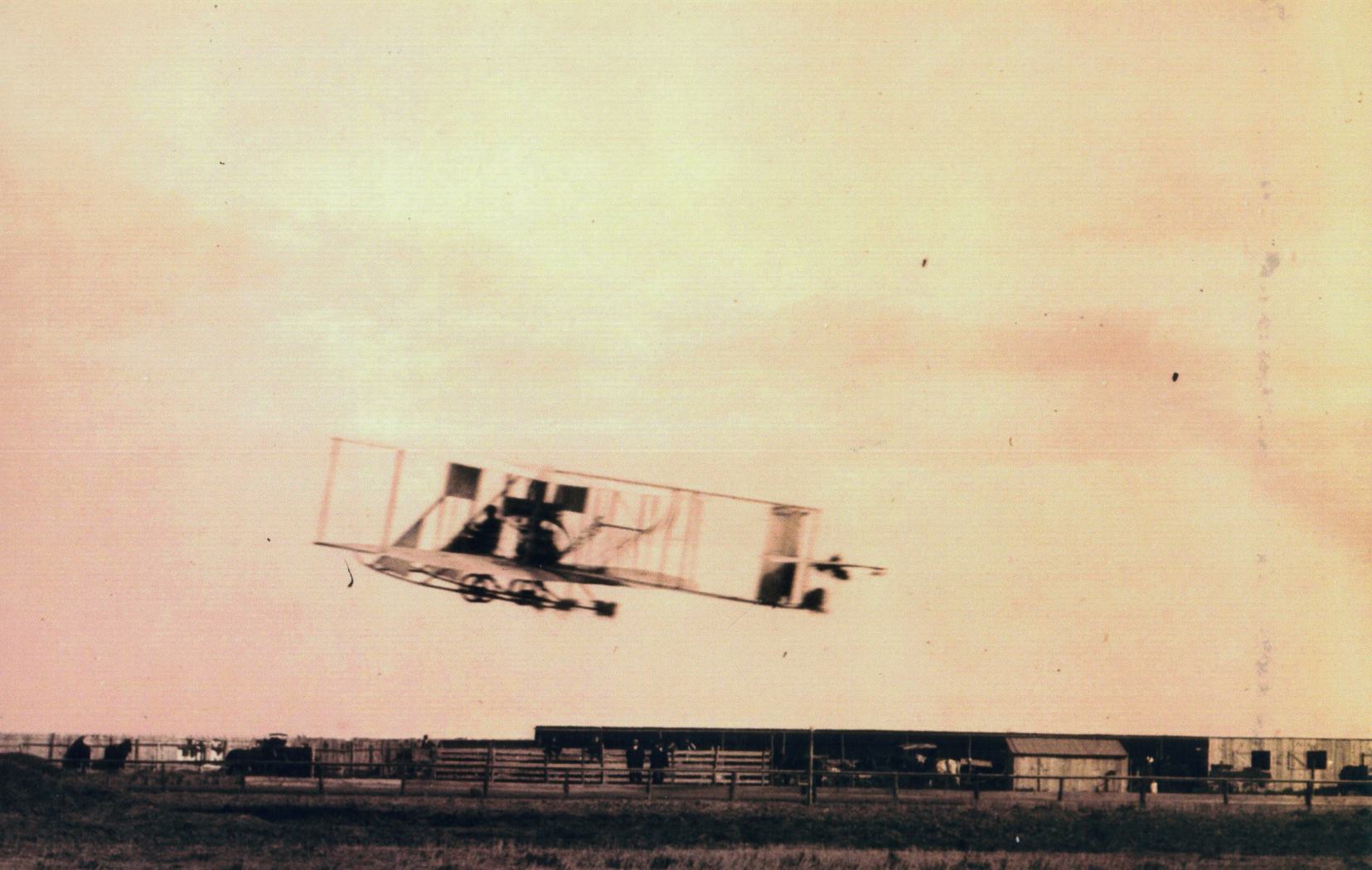 "Titled: ""Going Up."" During his takeoff roll, Robert Fowler had tumbleweeds jam the landing gear (a very SW Kansas touch) and nearly lost control."