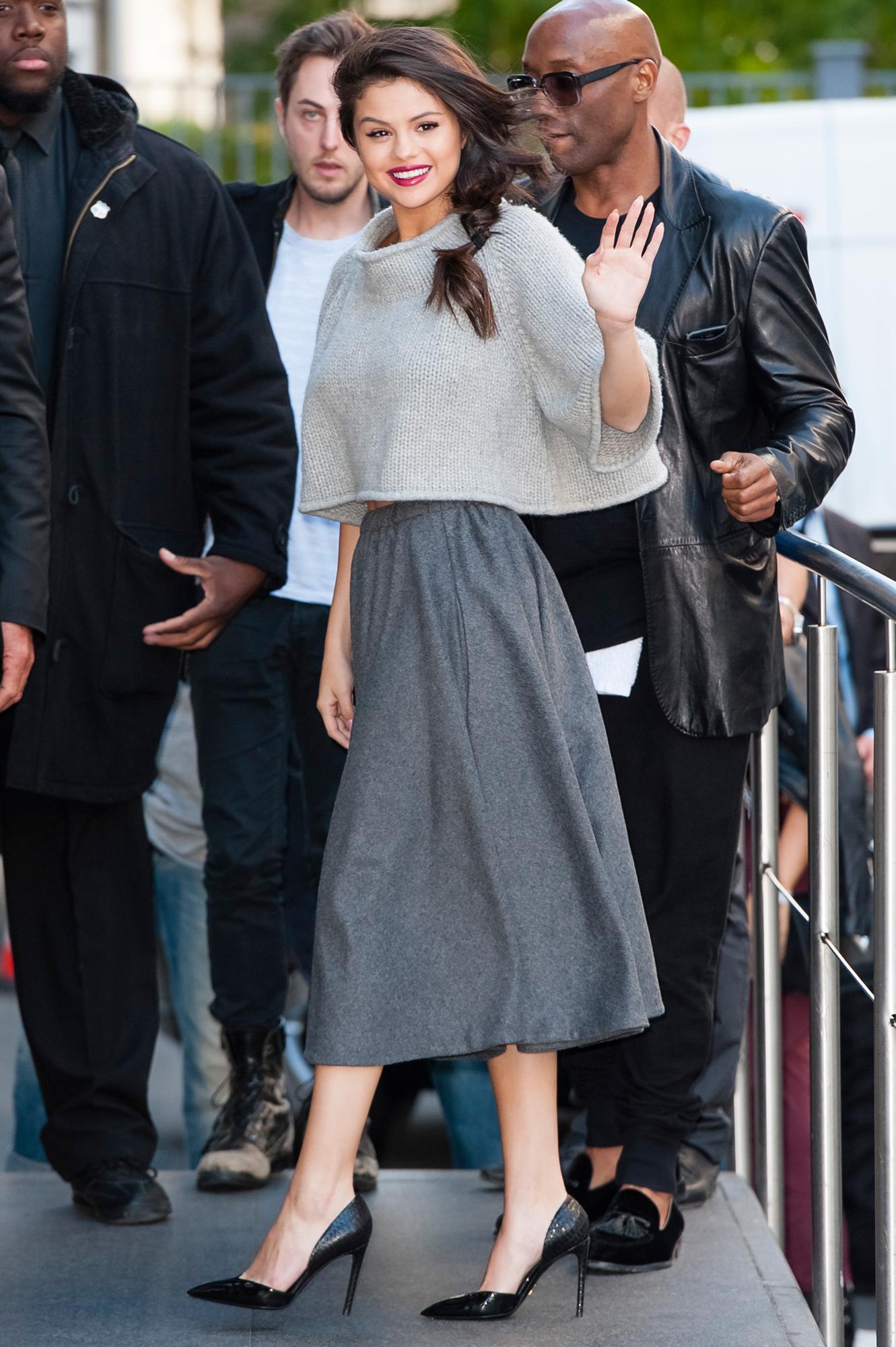 """Laura declar ó para Vogue UK,que los fans de las   celebrities   compran los looks de sus ídolos. """"Son las piezas m  ás   buscadas"""", enfatiza."""