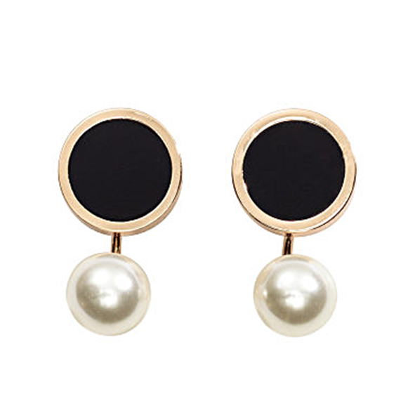 Pendientes con perla H&M