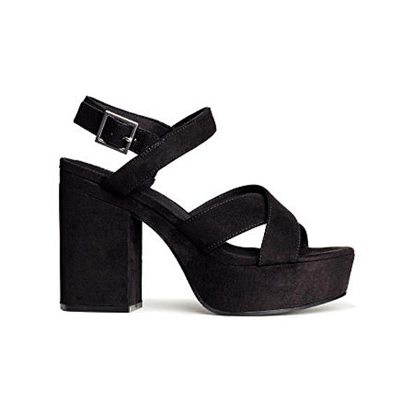 Sandalias con plataforma H&M