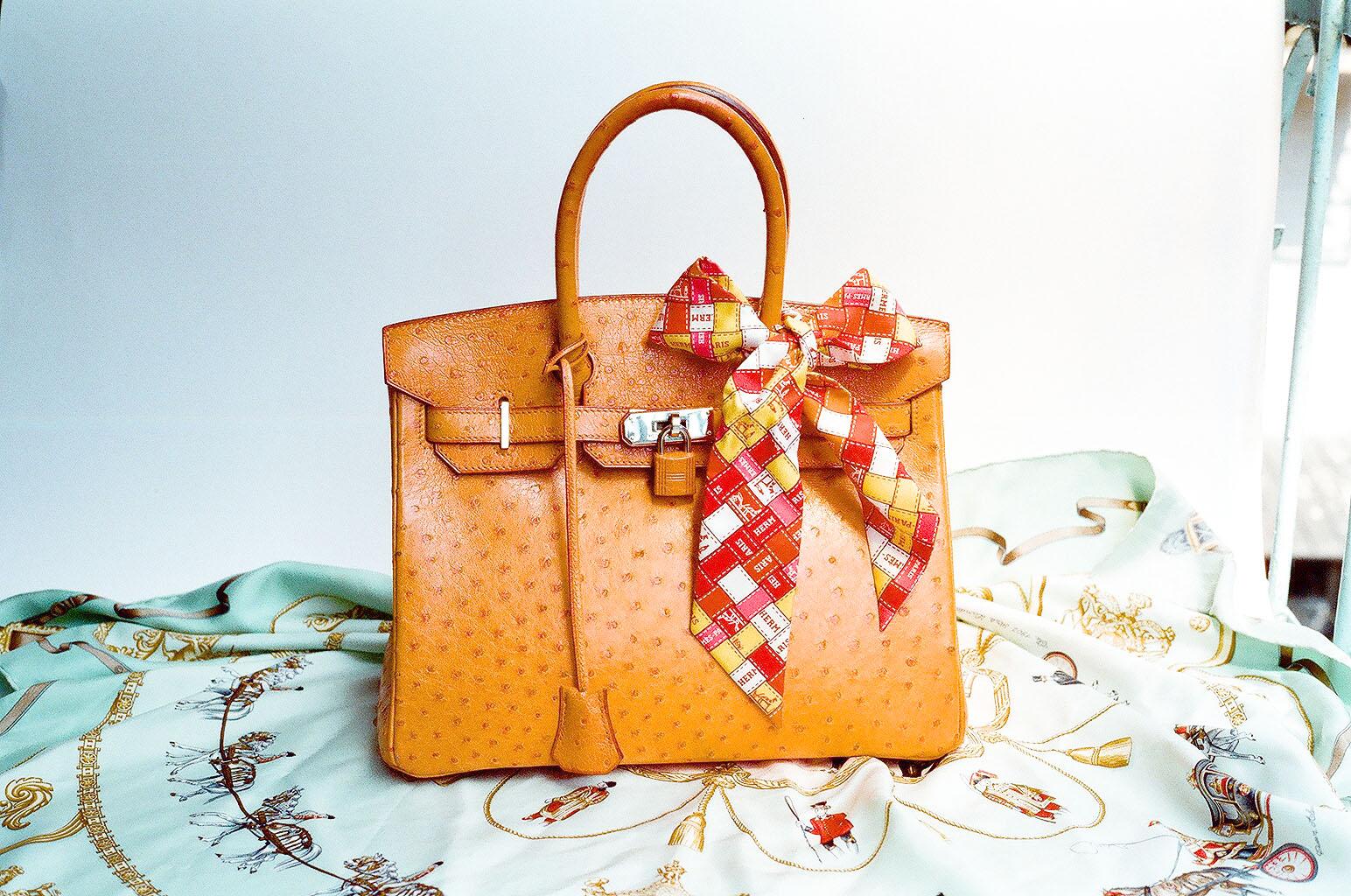 Ostrich Bag de Loewe