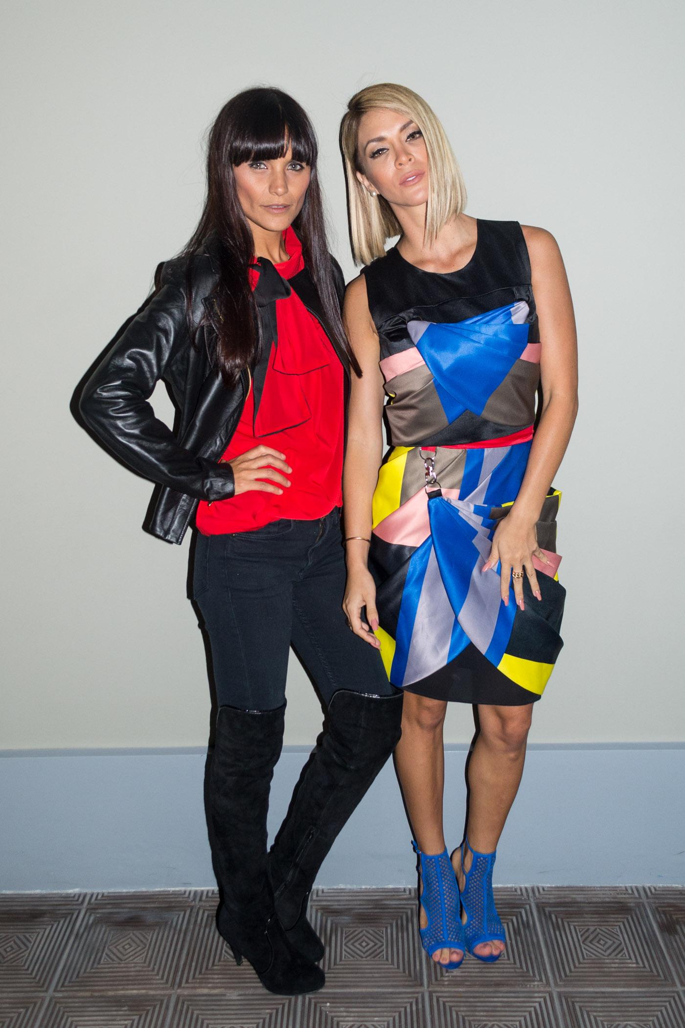Guiulliana Weston y Sheyla Rojas