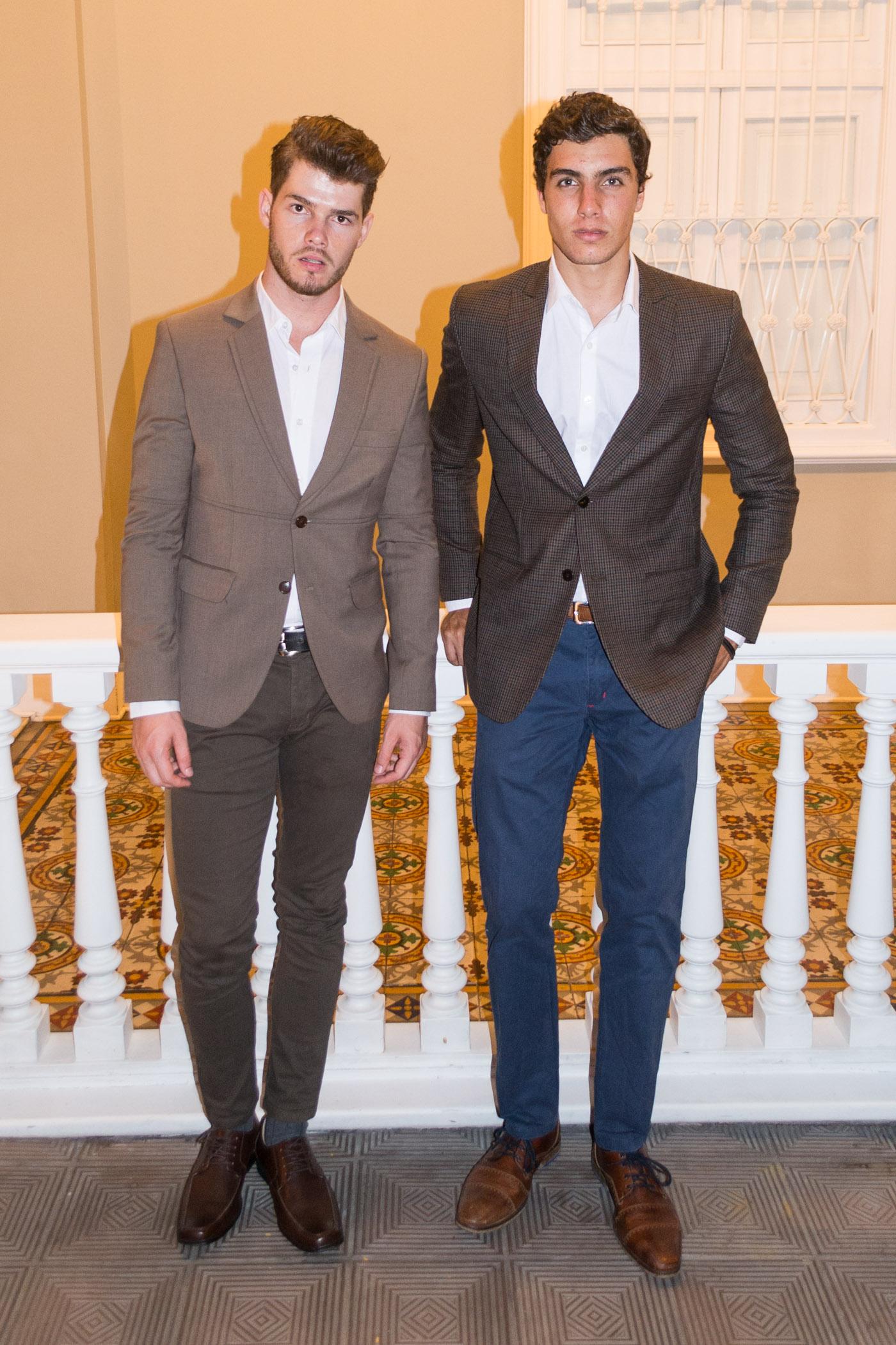 Miguel Bruinsha y Rodrigo Colareta