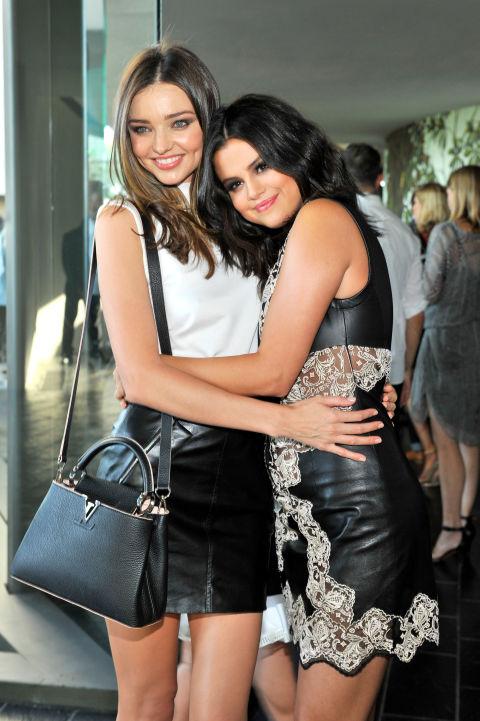 Miranda Kerr y Selena Gomez