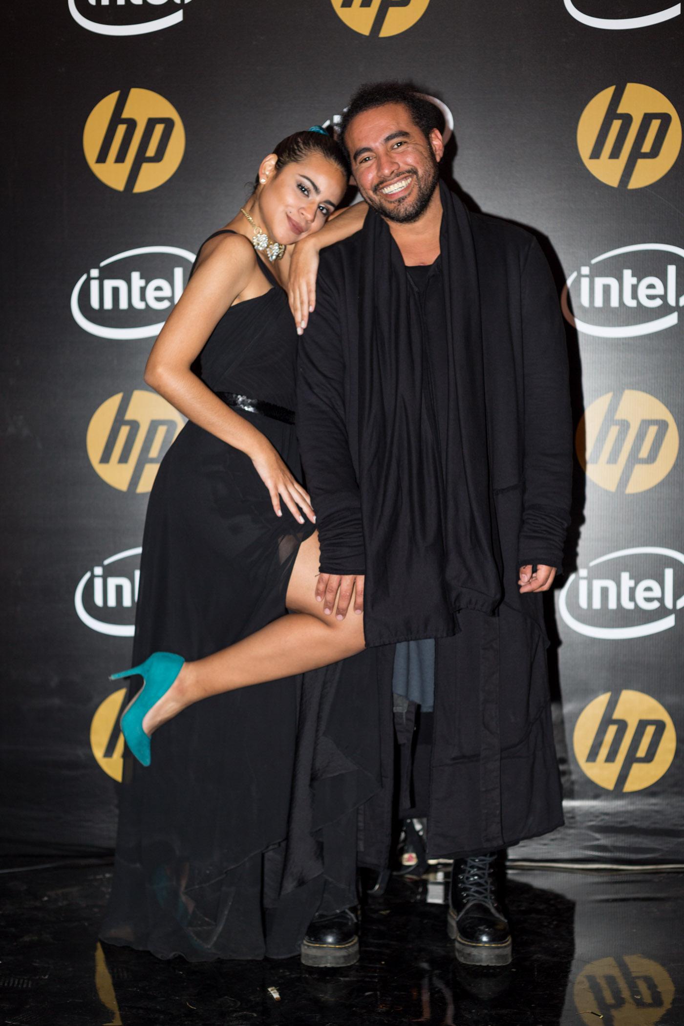 Fiorella Montellanos y Omar Valladolid