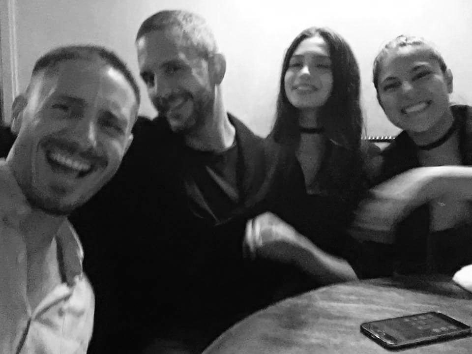Peruvian Squad Goals. Milan Kelez, Alexander Neumann, Paula Montes y Laura Cuadros.