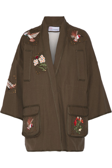 Embroidered jacket, RED VALENTINO