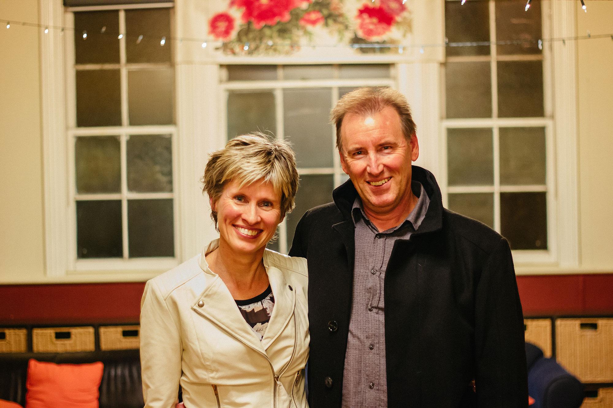 Ewen and Rachel McQueen - Pastors and Elders