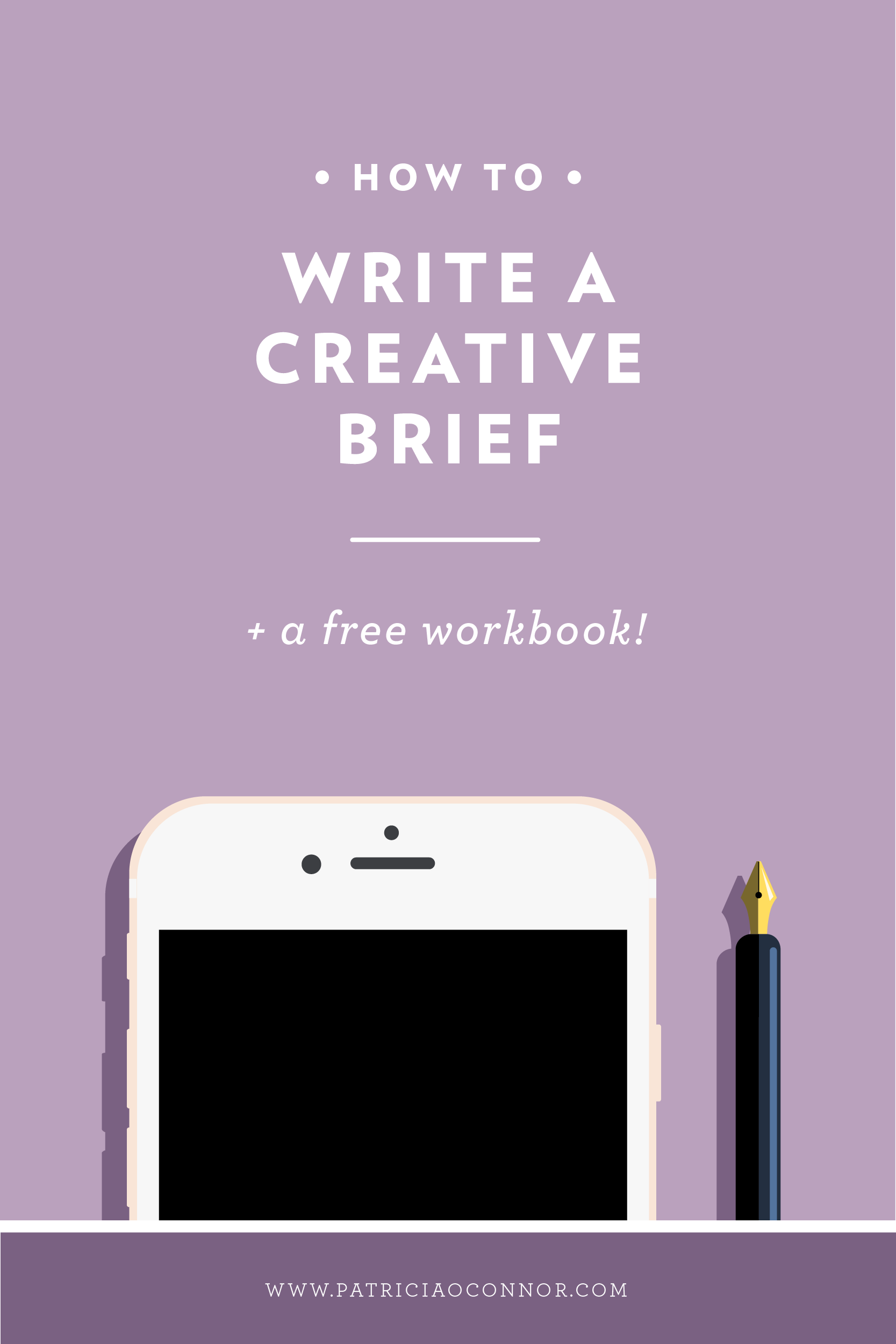 Don't forget this essential step in the design process! A well written creative brief can save you hours of revisions and lead to happier clients. Read the full post to learn how to write one!