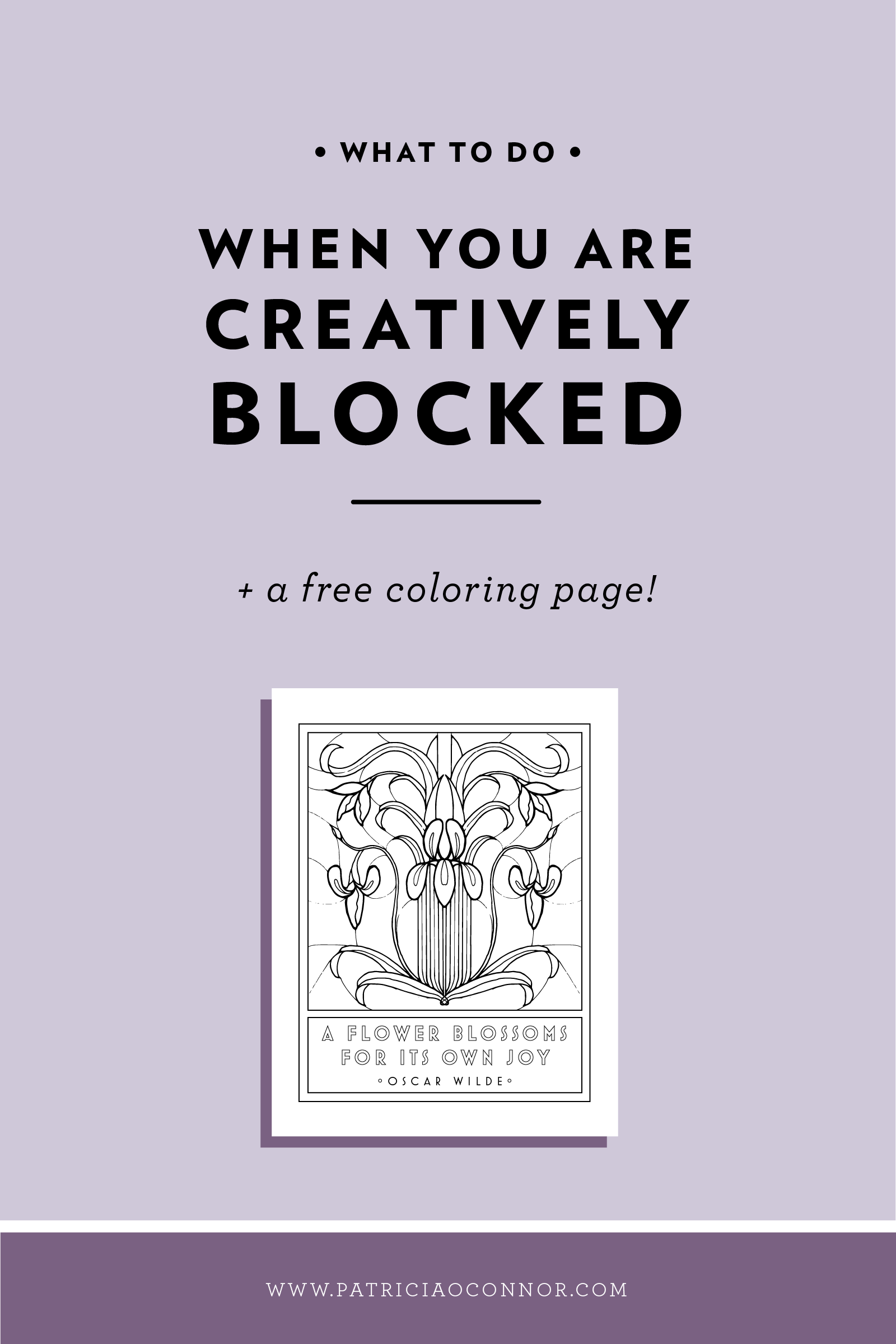 Read this post to learn how to get past creative blocks!