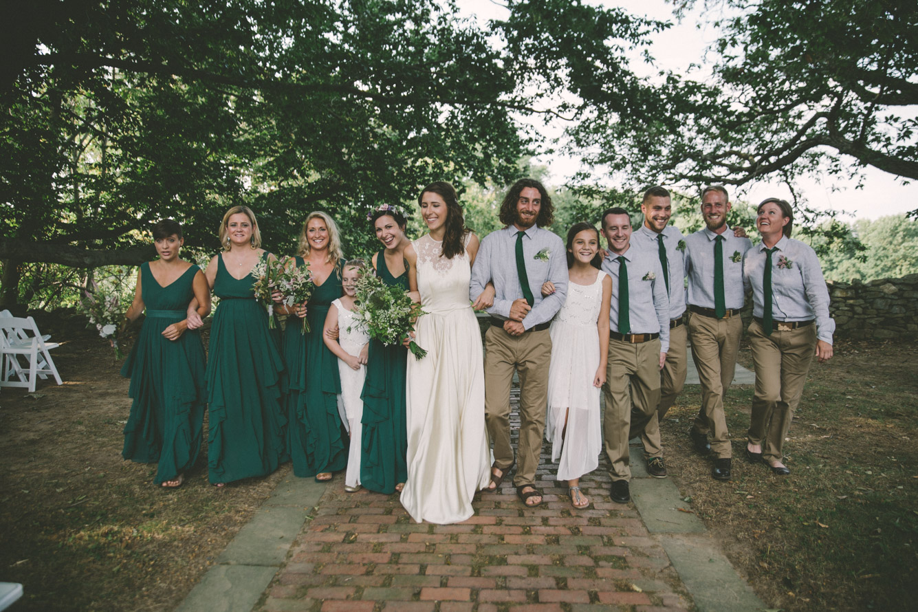 bridal party green dresses.jpg