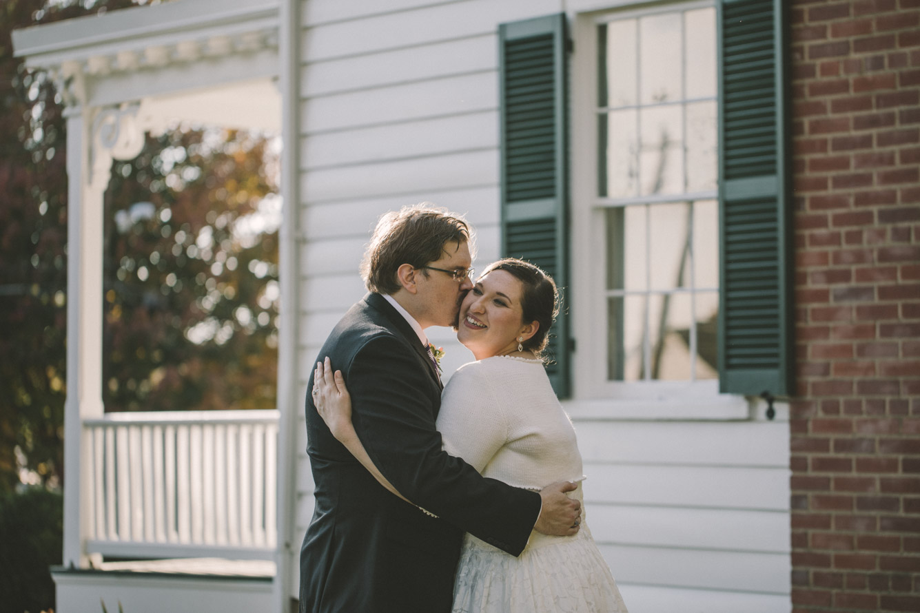 cherry hill farmhouse bride and groom sunset.jpg
