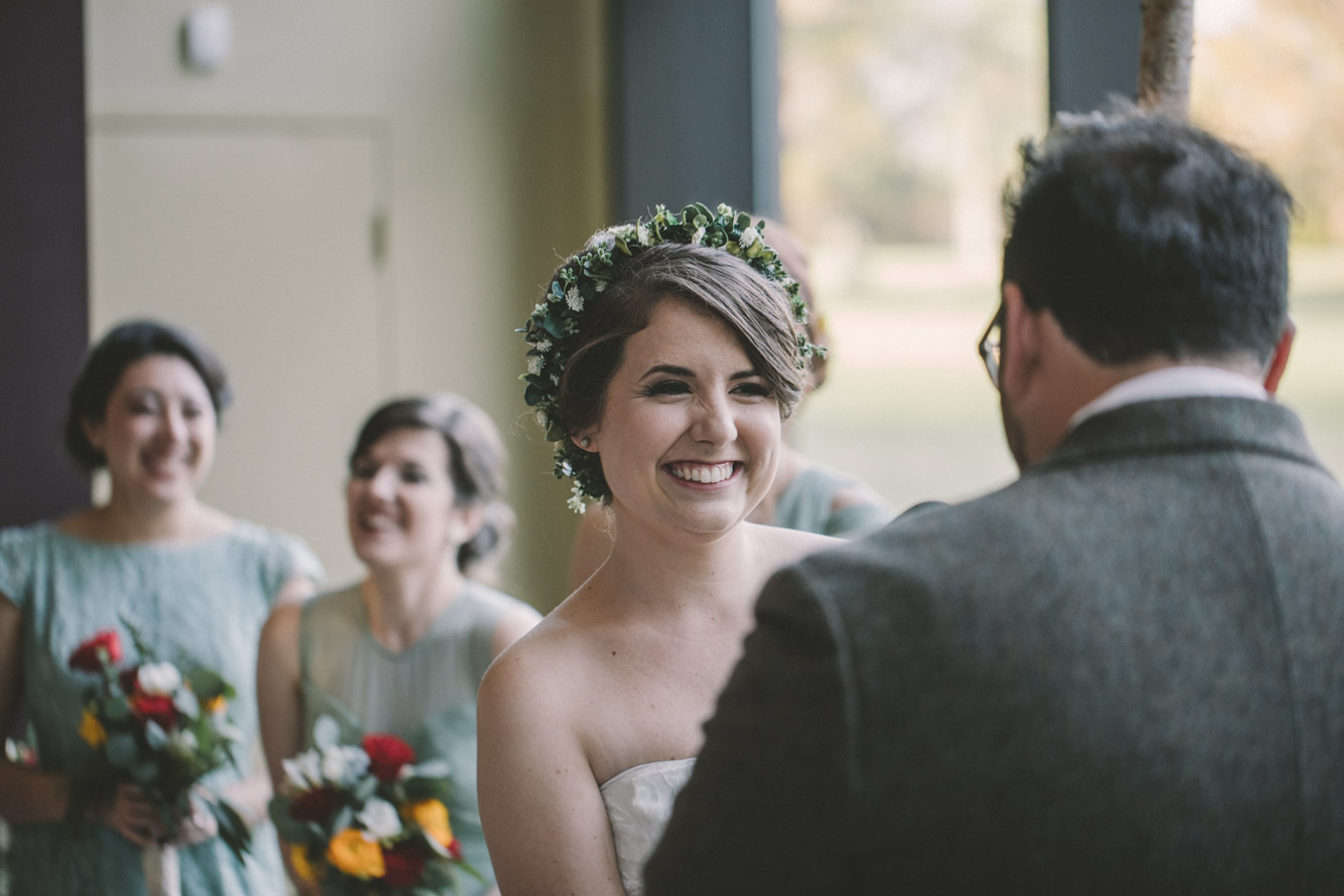 cylburn arboretum baltimore wedding ceremony bride.jpg