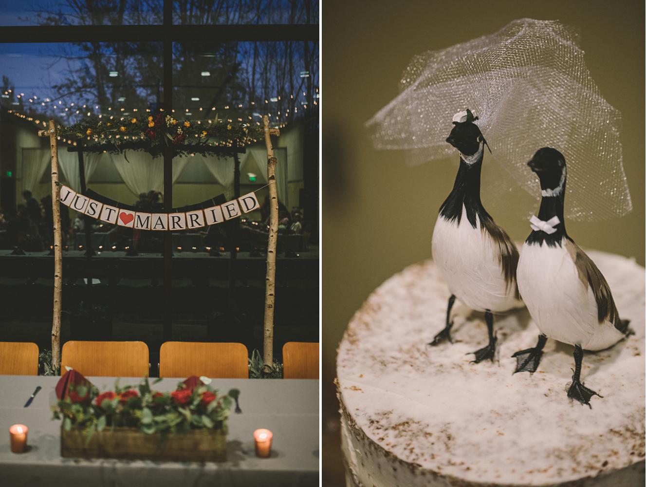 cylburn arboretum baltimore wedding details goose cake top.jpg