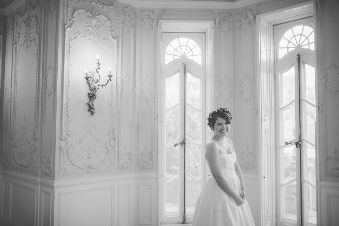 cylburn arboretum baltimore wedding happy bride.jpg