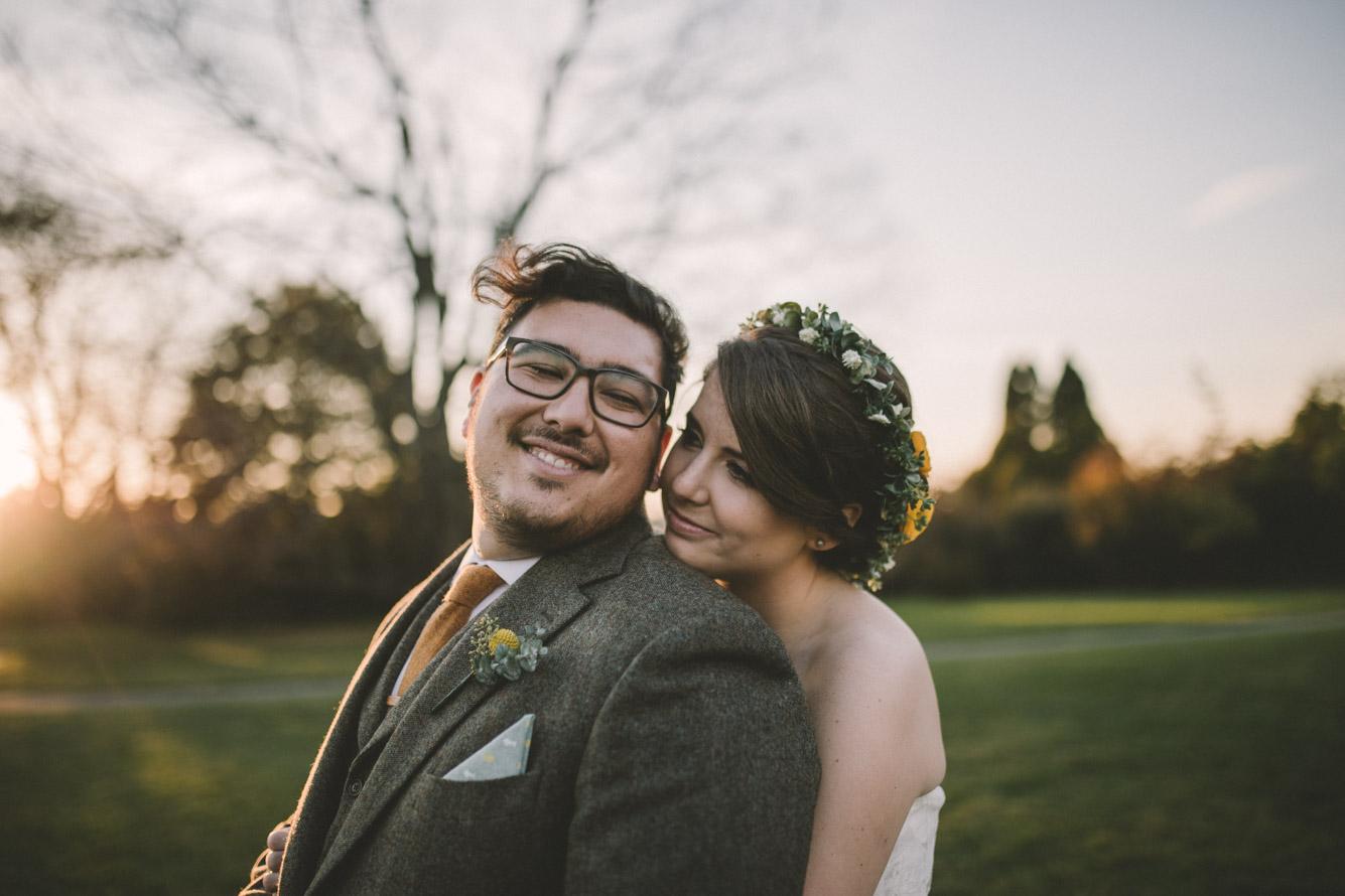 cylburn arboretum baltimore wedding sunset bride and groom.jpg