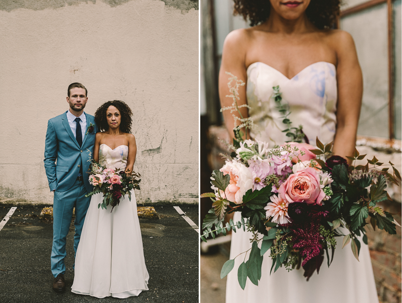 steelcutflowerco loose bouquet baltimore wedding photographer .jpg