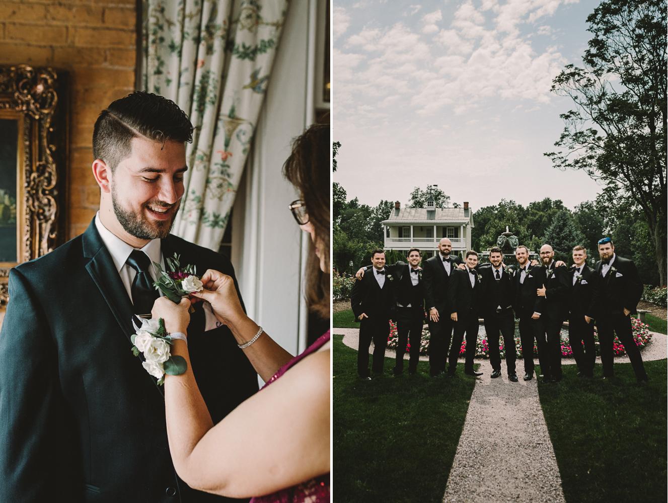 barbara o photography antrim 1844 groom getting ready groomsmen.jpg