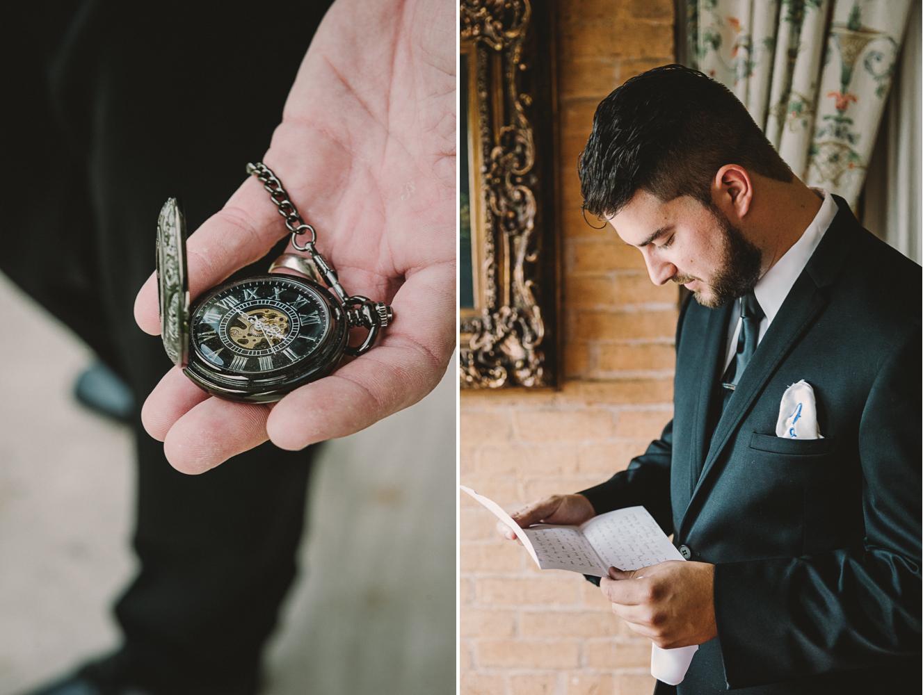 barbara o photography antrim 1844 groom getting ready reading letter.jpg