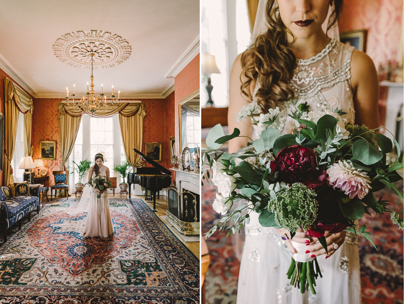 Barbara O Photography antrim 1844 wedding bridal party blush dresses5.jpg