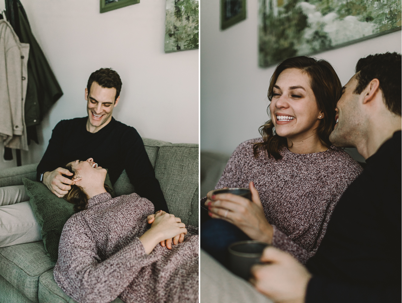 barbara o photography dc at home engagement session cozy couch.jpg