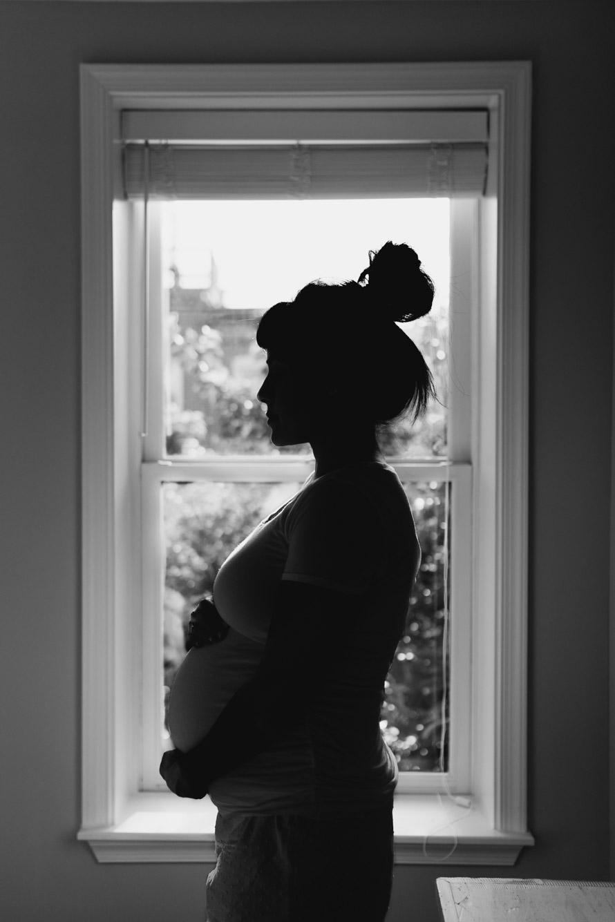barbara o photography maternity in home session bnw baltimore washington dc photographer.jpg