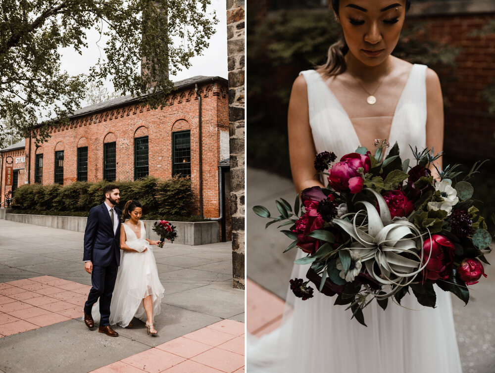 Mt Washington Mill Dye House industrial Baltimore wedding by Barbara O Photography-66.jpg