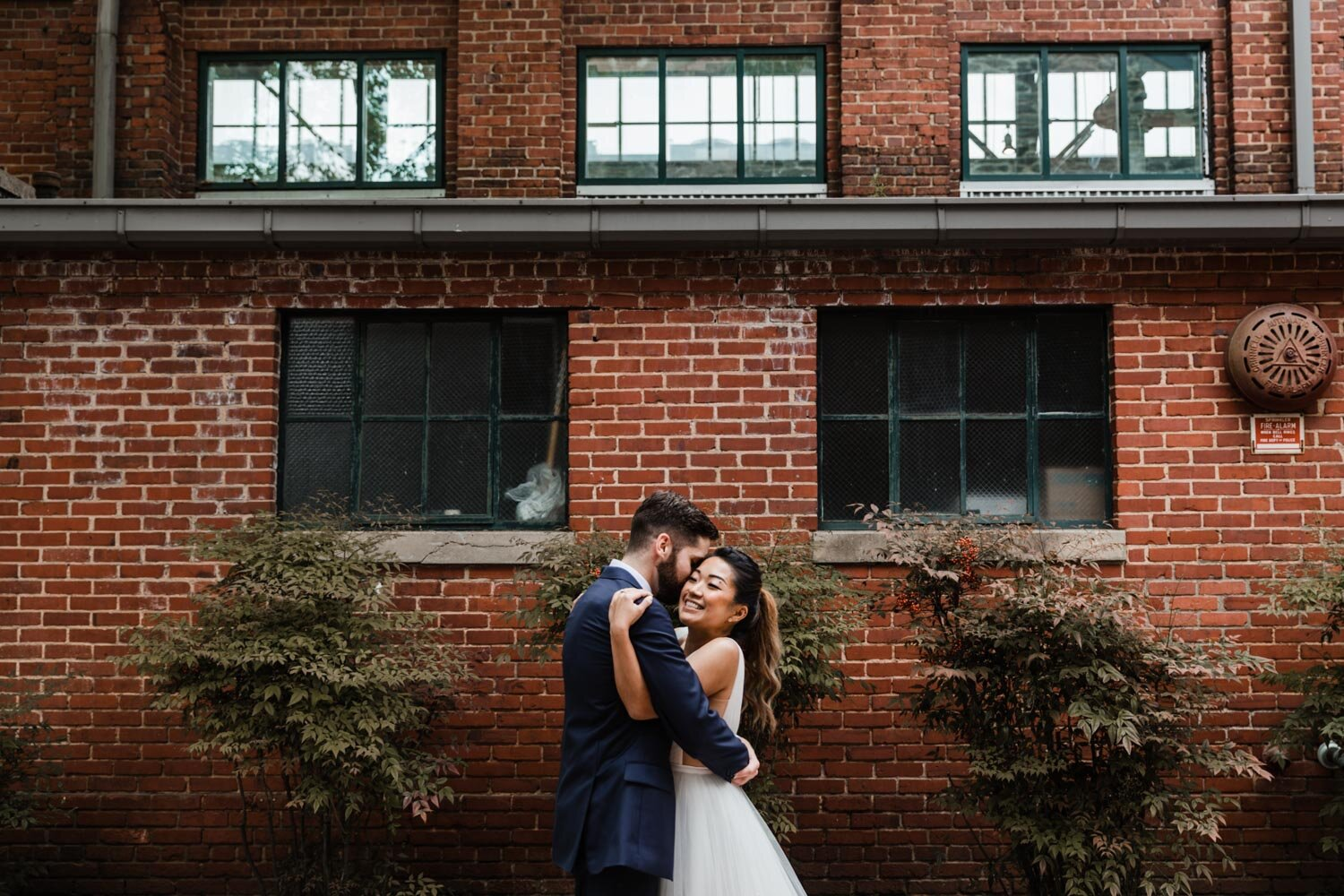 Mt Washington Mill Dye House industrial Baltimore wedding by Barbara O Photography-12.jpg