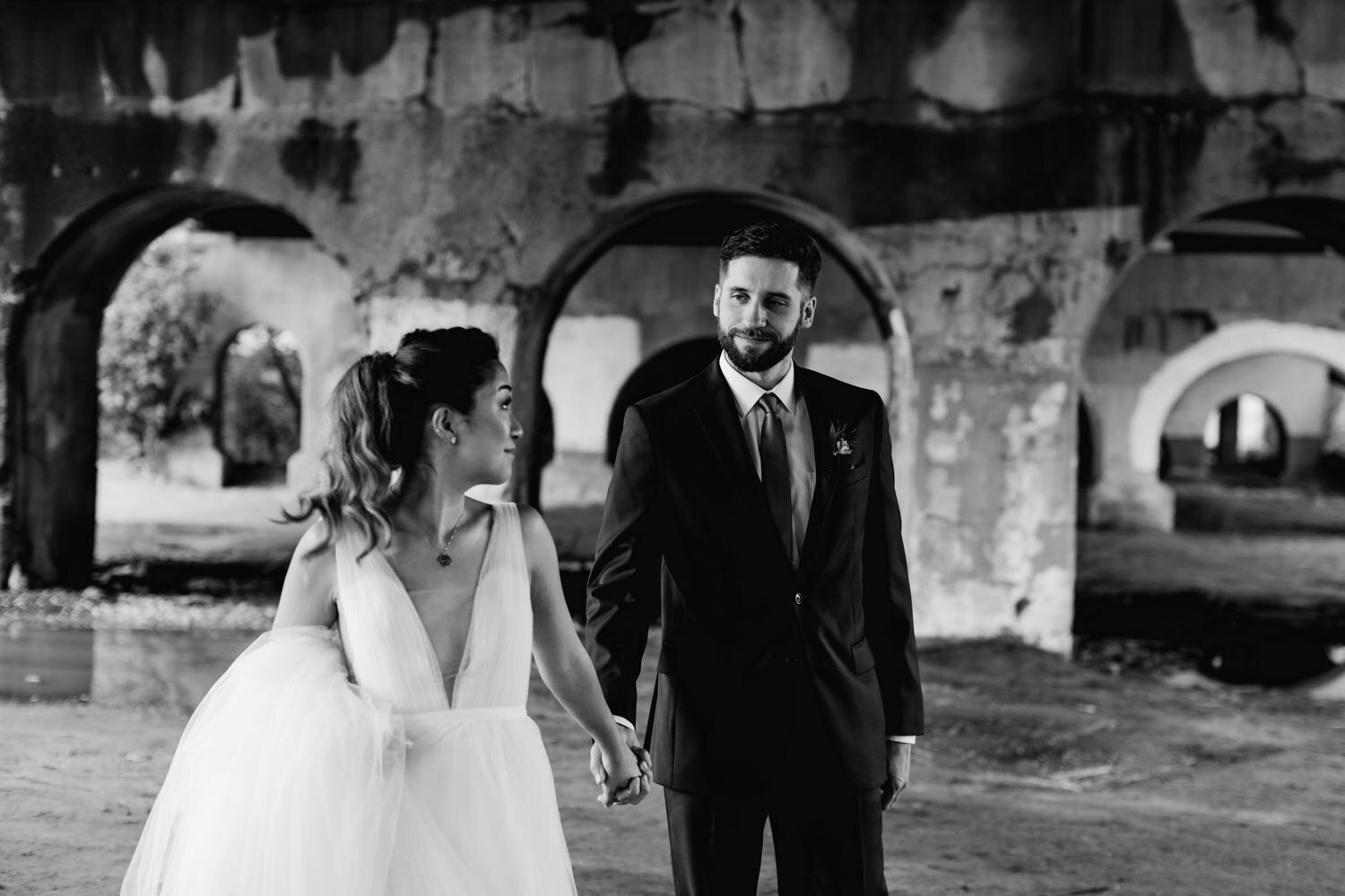 Mt Washington Mill Dye House industrial Baltimore wedding by Barbara O Photography-16.jpg